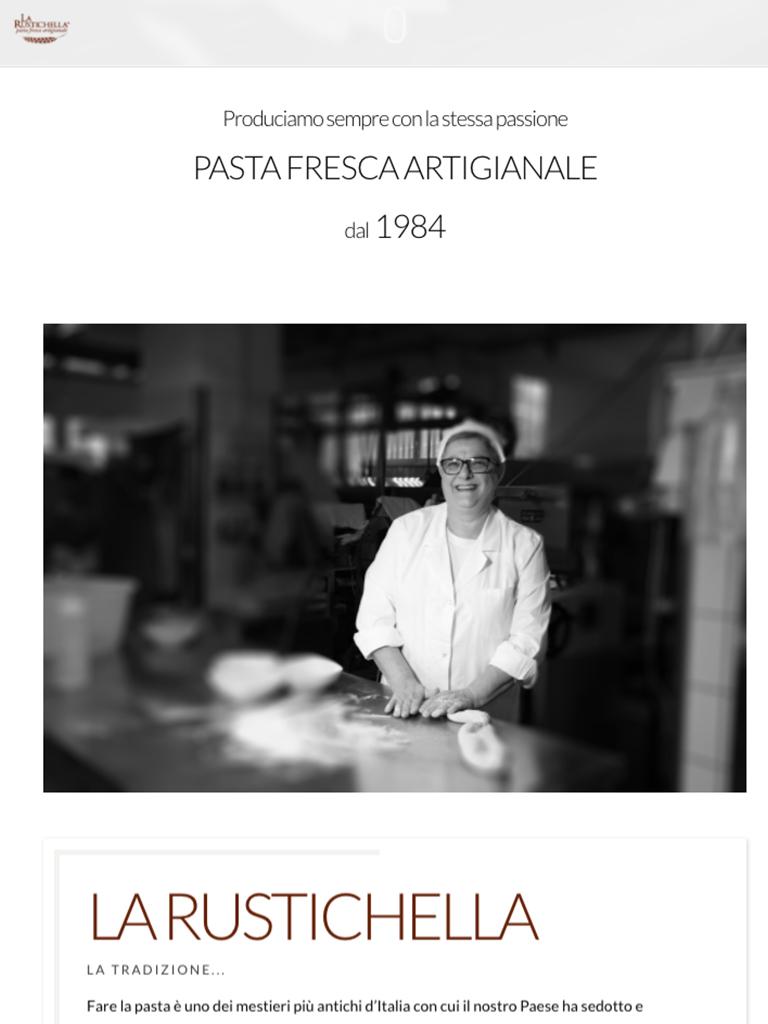 la rustichella pasta fresca artigianale portfolio bilogic avellino